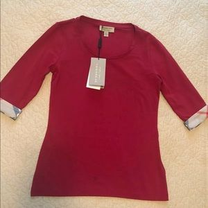 NWT authentic Burberry top